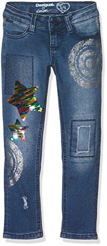 Desigual Denim_Cross, Jeans para Niñas Azul (Jeans 5006)
