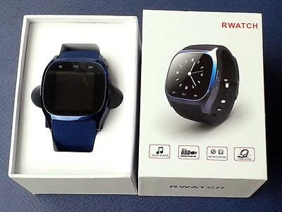 Legazone Black R-Watch M26 Bluetooth Smart Wrist Watch Phone For Android Samsung Smartphone for Cellphone Call Answer SMS Reminding Music Player ...
