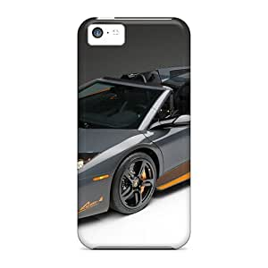 Quality NewArrivalcase Case Cover With 2009 Lamborghini Murcielago Lp650 4 Roadster Nice Appearance Compatible With Iphone 5c by runtopwell