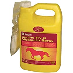 Manna Pro 0593405864 Ready-to-Use Equine Fly and Mosquito Spray for Horses, 1-Quart