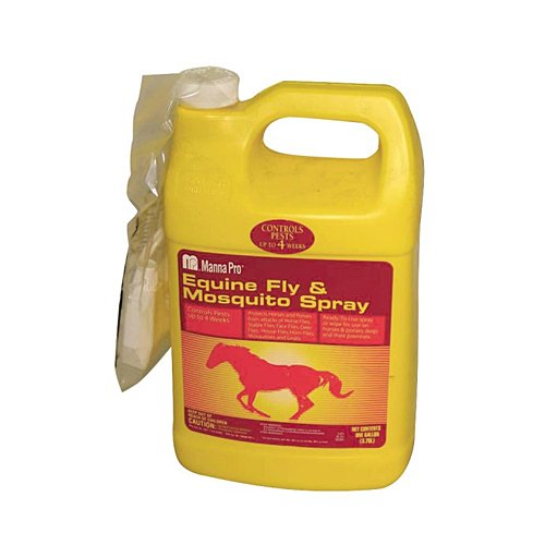 Manna Pro 0593405864 Ready-to-Use Equine Fly and Mosquito Spray for Horses, (Equine Insect Spray)