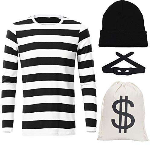 UIMLK Robber Costume for Mens - Bandit