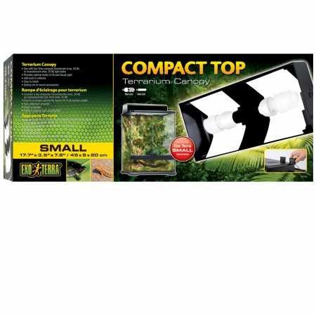 Exo Terra Compact Top Flourescent Terrarium Canopy ()