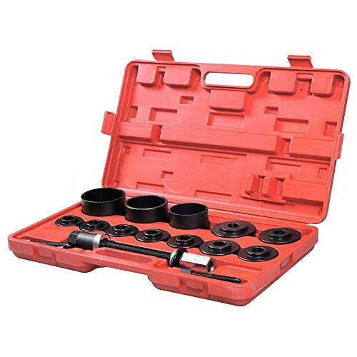 19PC Car FWD Front Wheel Hub Drive Bearing Puller Master Tool Kit C40847 ()
