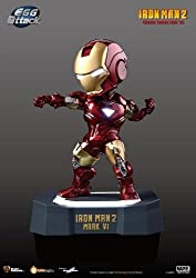 Authentic Kids Logic Egg Attack Iron Man Mark VI armor Suit from Iron Man 2 Lights up Statue