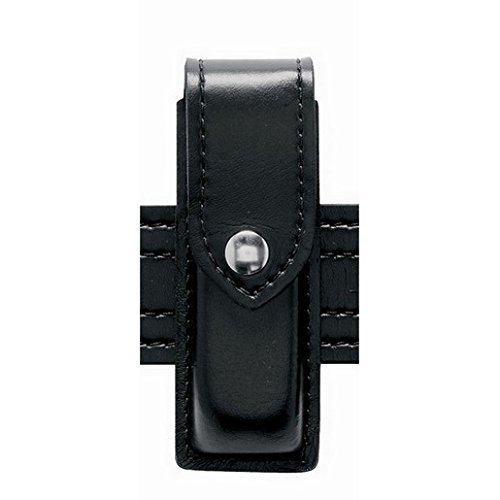 (Safariland 76 Single Handgun Magazine Pouch - Hi Gloss Black, Ambidextrous)