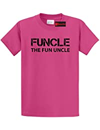 Men's Funcle Fun Uncle Funny Tee Uncle Brother Gift Tee T-Shirt