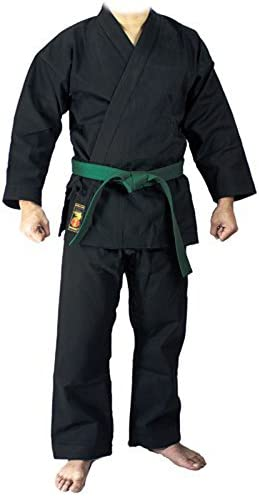 Schwarz YORYU Keikogi Karategi Deluxe Schwarz 9 oz