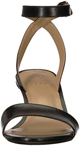 Tinda Tacco Naturalizer Nera Donne Sandalo In Delle Pelle nqAHRx8
