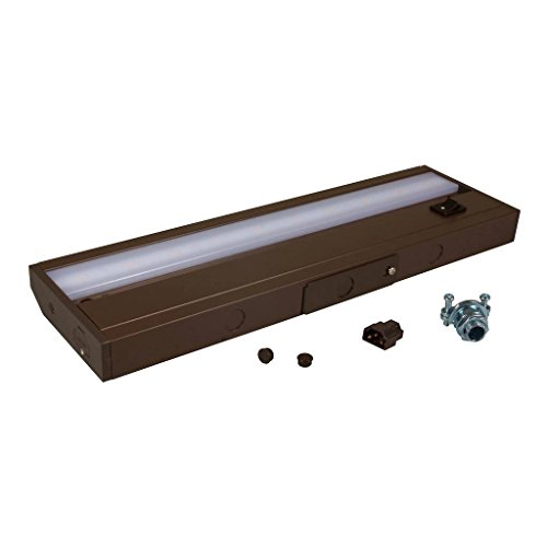 American Lighting ALC-12-DB LED Complete Under Cabinet Light, 4-Watt, 120-Volt Dimmable Warm White, 12-Inch, Dark Bronze (Fluorescent Ceiling American Lighting White)