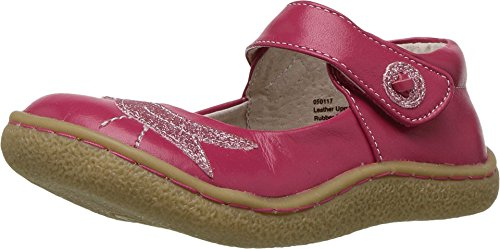 Livie & Luca Girls' Pio Mary Jane Flat, Hot Pink, 11 Medium US Little Kid