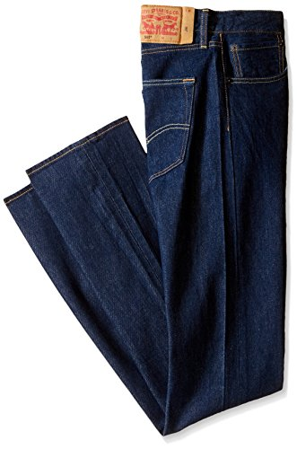 Levi's Men's Big and Tall 501 Original Fit Jean, The Rose - Stretch, 44W x 32L Button Fly Spandex Jeans