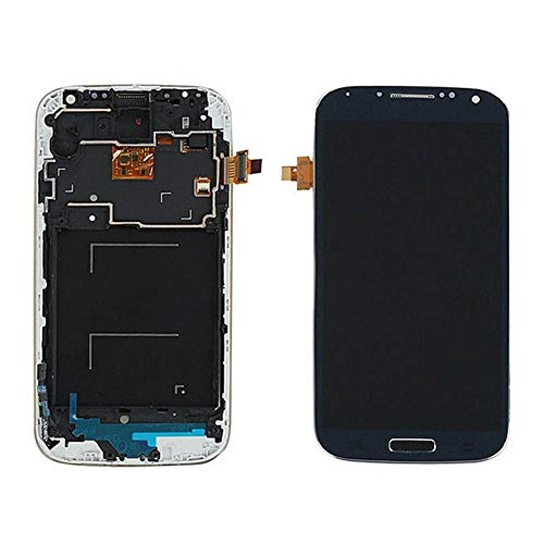 dulawei3 Replacement LCD Screen Touch Digitizer Repair Assembly Parts for Samsung Galaxy S4 i9505 with Tools Black (Phone Screen Repair Kit Galaxy S4)