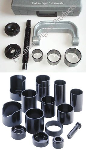 Ball Joint/U Joint/C Frame Press Service Set Forged Clamp 21 pc for Trucks, Cars, 4WD trucks by PMD Products (Image #4)