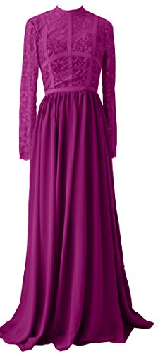 VaniaDress Women Elegant Lace Long Bridesmaid Dress Evening Gown V288LF Purple US24W