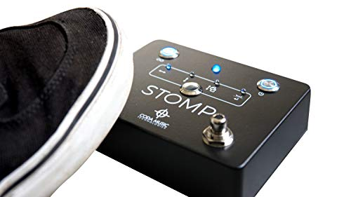 STOMP Bluetooth 4.0 Page Turner & App Controller Foot Pedal for Tablets by Coda Music Technologies