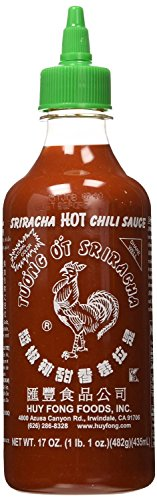 [Huy Fong, Sriracha Hot Chili Sauce, 17 Ounce Bottle - 12 pack] (Red Baron Baby Costume)