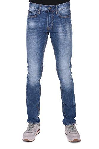 Medio Blu Slim Jeans Guess Uomo Rq1HHa