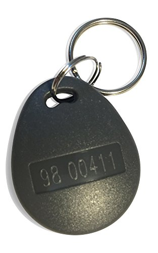 2 pcs 26 Bit Proximity Key Fobs Weigand Prox Keyfobs TESTER PACK Compatable with ISOProx 1386 1326 H10301 format readers. Works with the vast majority of access control (Proximity Key Fob)