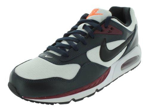 Nike Uomo Nike Max Correlato Aria Scarpe Da Corsa 9 (bianco / Nero / Drk Ossidiana / Tm Rd)
