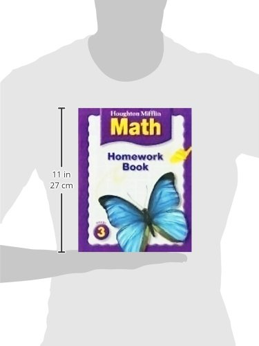 Math Worksheets houghton mifflin math worksheets grade 5 : Houghton Mifflin Math: Homework Book (Consumable) Grade 3 ...
