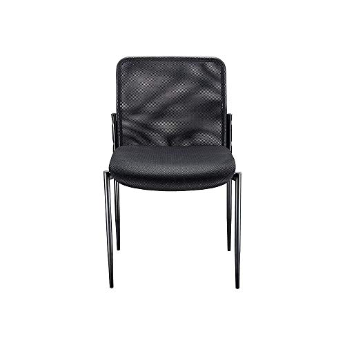 Roaken Armless Mesh Guest Chair