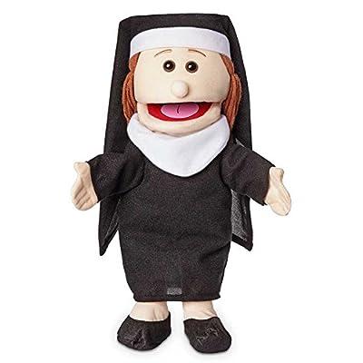 "14"" Nun, Peach, Hand Puppet: Toys & Games"