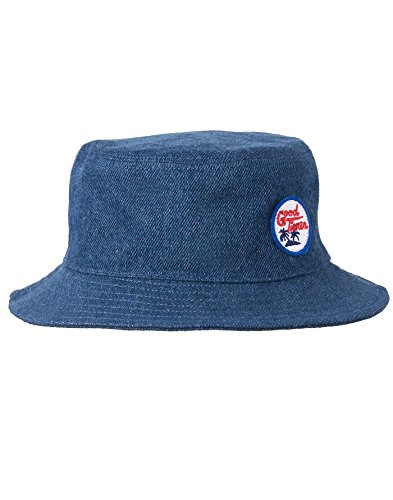 Denim Bucket Hat, Denim Good Times, 2-3T (Fully Lined Bucket Hat)