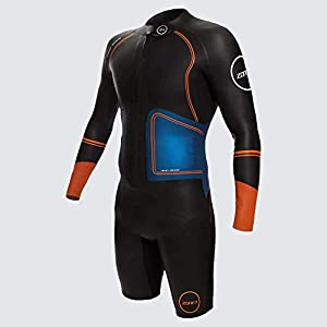 Zone3 Men's Swim-Run Evolution Wetsuit with 8mm Calf Sleeves