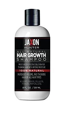 Mens Natural Hair Growth Shampoo, Hair Loss Treatment, Essential Oils Hydrate Hair, 8 fl oz