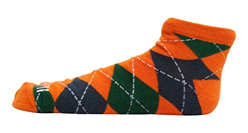 Donegal Bay University Of Miami N/S Footie Sock,One Size,green by Donegal Bay