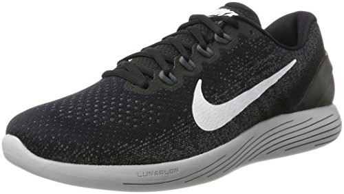 Shoes Nike Men 9 Dark Running Grey Black White Grey Wolf Multicolour Lunarglide 001 wO6q6daI