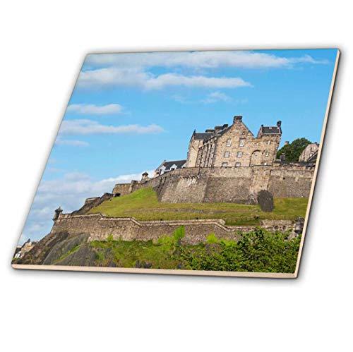 3dRose ct_82801_2 Scotland, Edinburgh, Edinburgh Castle EU36 CMI0156 Cindy Miller Hopkins Ceramic Tile, 6