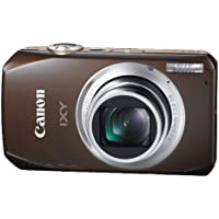 Canon Digital Camera IXY50S (Brown) IXY50S(BW) 10MPCMOS 10x Optical Zoom 3.0-inch WideDisplay fullHD - International Version