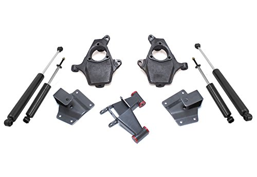 MaxTrac KS330924 Lowering Kit 2 in. Front Drop 4 in. Rear Drop Incl. Front Lowering Spindles/Front Maxtrac Shocks/Rear Shackles/Rear Hangers/Rear MaxTrac Shocks Lowering Kit ()