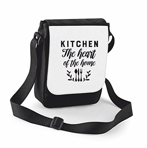 Cover Shoulder Bag Handbag Compartment Of Home Messenger Case Black Large Small Kitchen The Family Crossbody Heart Statement Traveling qF11cH