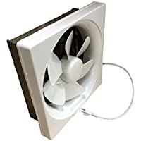 """Professional Grade Products 9800394 Shutter Exhaust Fan for Garage Shed Pole Barn Hydroponic Ventilation, 265 CFM, 6"""""""