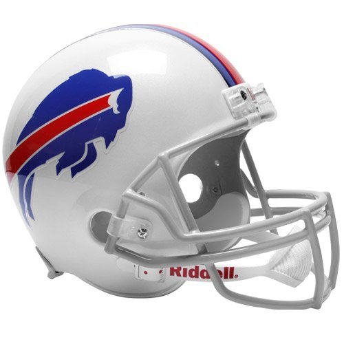 (NFL Buffalo Bills Full Size Proline VSR4 Football Helmet)