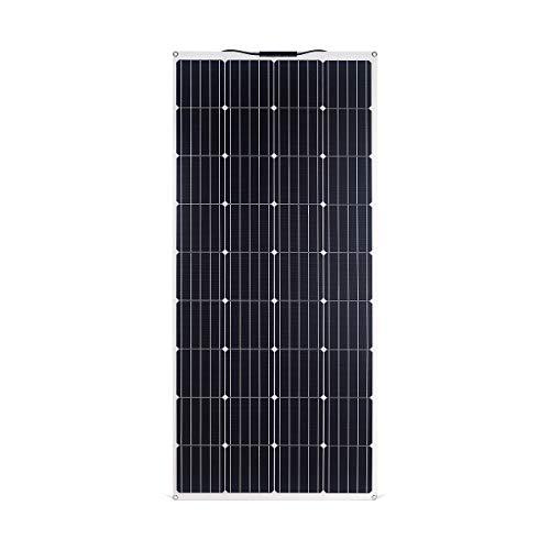 Betop-camp 160W ETFE Flex Semiflexibles Mono-PV-Solarpanel-Ladegerät für Wohnmobile, Boote, Zelte, Autos, 12-V-Batterien oder andere unregelmäßige Oberflächen