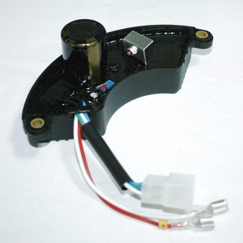 JXPARTS AVR Automatic Voltage Regulator for Generator 6.5kw 7kw 7.5kw 8kw Halfmoon Style