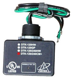 DiTek DTK-120/240CM+ Surge Protector • 120/240 Volt • 72,000 Amp Peak Protection • Replacement Surge Protector