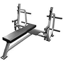 Olympic Weight Bench with Spotter Stand