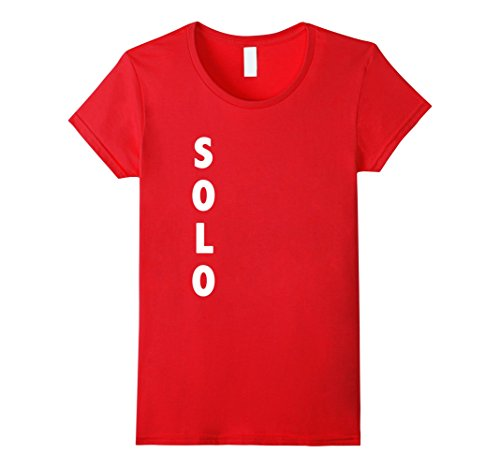 Womens Funny Solo Red Cup Halloween Costume | Beer Drinking Shirt Large (Cup Halloween Costumes)
