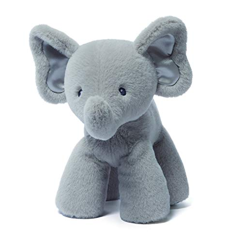 (Gund Baby Bubbles Elephant Plush, Gray, 10