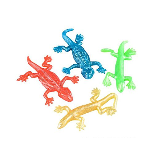 4'' Stretch Lizard (With Sticky Notes) by Bargain World