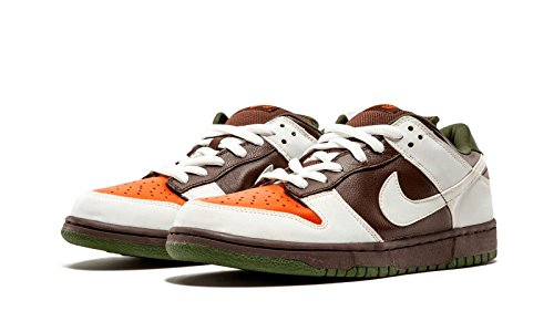 Nike Dunk Low PRo SB Oompa Loompa 2005 Chocolate White Buck Cherry 304292-228 US Size 10
