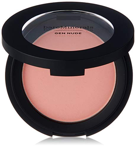 bare Minerals Gen Nude Powder Blush Pretty In Pink for Women, 0.21 Ounce