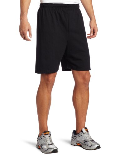Mens Soffe Shorts (Soffe Men's Heavy Weight Jersey Short Black Large)