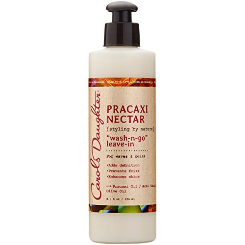 Carol's Daughter Pracaxi Nectar Wash-n- Go Leave-In, For All Hair Types, 8 fl oz (Packaging May - Wash Daughter Carols