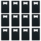 Aspire Credit Card Bottle Openers Fit Wallet, Various Colors – Black 12PCS Review